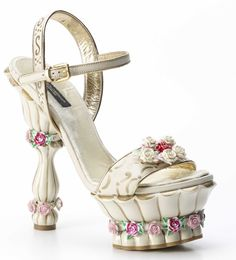 Dolce and Gabbana Shoes Inspired by Marie Antoinette