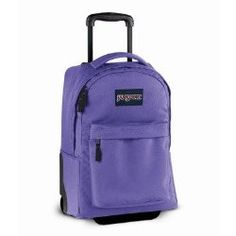 Special Offers Available Click Image Above: Jansport Wheeled Superbreak - Purple Sky Jansport Rolling Backpack, Purple Sky, Girl Backpacks, Life Is An Adventure, School Bags, School Supplies, Outdoor Gear, Back To School, Pouch
