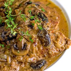 Braised Beef with Onion Mushroom Gravy. Try with RockCrock