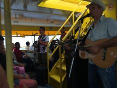 Live Music on the deck of the ferry... AWESOME!