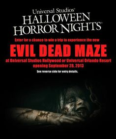 Halloween Horror Nights Tickets Are On Sale Now!   Horror nights ...