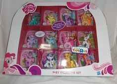 My Little Pony Ponyville 12 Pack Collection Set 6 Exclusive Special Edition Hub #Hasbro