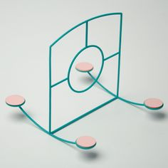 Capucine Diancourt's Loose Play series of freestanding conceptual playground equipment challenges children to keep their balance