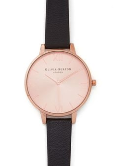 Undisputed Class Watch in Rose Gold, #ModCloth. Omg seriously with these Olivia Burton Watches. Like I want one but I even if/when I do buy one I would have no idea which one to pick. Like how do you pick?