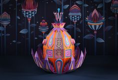 'Forest Folks' Paper Installations for Hermès by Zim & Zou – Visuall
