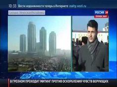 Митинг в Грозном против карикатур на Пророка Мухаммада. Чечня 19.01.2015