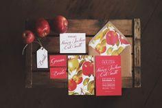Fairy Treehouse Apple Wedding Ideas Stationery Invitations http://paolacolleoni.com/