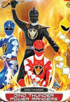 Dino Thunder Power Rangers