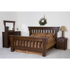 DIY Headboards - Double Headboard Cheap And Simple Diy Country Home Decor Ideas Rustic Wooden Bed. Rustic Bedroom Furniture, Rustic Bedding, Country Furniture, Home Decor Bedroom, Teak Furniture, Bedroom Ideas, Master Bedroom, Bed Headboard Wooden, Bed Frame And Headboard