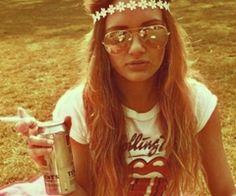 the hippie look