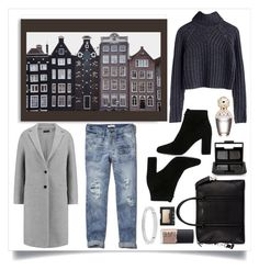 """""""How to wear cuffed jeans"""" by stylishest ❤ liked on Polyvore featuring Abercrombie & Fitch, Yves Saint Laurent, Givenchy, Joseph, Michael Kors, NARS Cosmetics and Marc Jacobs"""