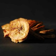 Selbst gemachte Bananenchips