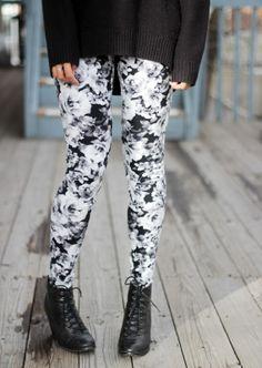 Floral Leggings