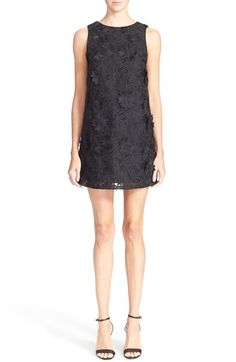 Alice + Olivia 'Clyde' Lace Shift Dress available at #Nordstrom