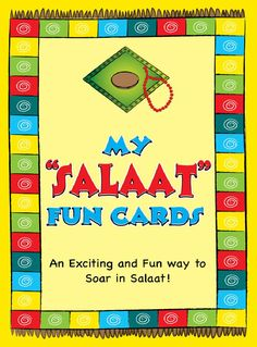 An awesome card game designed by Kids n Islam (and available for purchase through Buzz Ideazz!) is 'My Salaat Fun Cards'. The cards are a great way to help children understand the speci…