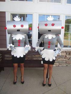 20 DIY Last Minute Creative-Clever Halloween Kostüm Ideen - Costume Space Costumes, Robot Costumes, Clever Halloween Costumes, Unique Costumes, Last Minute Halloween Costumes, Adult Halloween, Holidays Halloween, Diy Costumes, Scary Halloween