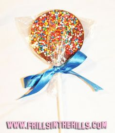 chocolate lolly pops