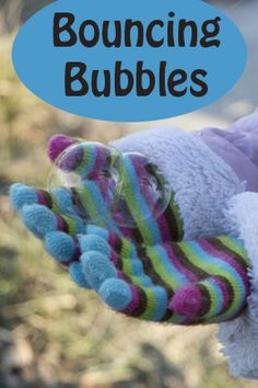 recipe for bouncing bubbles