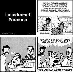 Write your name on everything! [#comic #webcomic #laundry #clothes ]