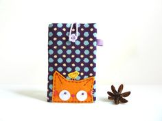 Mobile Phone Case, Ipod Sleeve, Phone Cover, iphone Case - Cat. via Etsy.