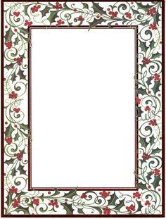Border Designs for Invitations | ... invitations laser invitations with red foil border 6 x 8 10