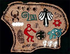 Native American Buffalo Hides Lesson Plan, culture and art fusion