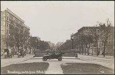 Broadway, north from 122nd St., New York. 1910