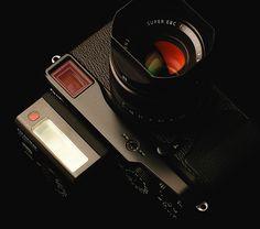 FUJI X-Pro1 with EF-X20 Shoe mount flash.