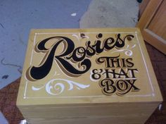 Osbornes Signs - Traditional hand painted signs. Loving this guy's gallery