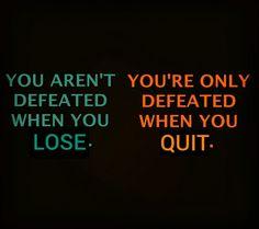 Don't quit! Winner Wednesday!  #wednesday #winnerwednesday #youarentdefeated #dontquit #motivation #transformation #adventuresofjac