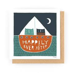 HAPPILY EVER AFTER - Greeting Card www.freya-art.com