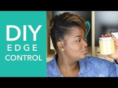 This CurlMix is the best DIY Edge Control for curly hair. It features castor oil and flax seed gel along with an Apple Cinnamon scent that will blow you away! Damp Hair Styles, Hair And Beard Styles, Curly Hair Styles, Natural Hair Styles, Natural Hair Gel, Natural Beauty, Flaxseed Gel, Edges Hair, Edge Control