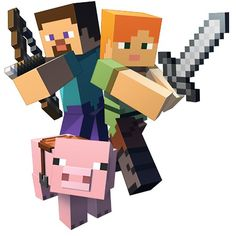 Amigos - Minecraft World Steve Minecraft, Minecraft Png, Minecraft Posters, Capas Minecraft, Minecraft Pictures, Cool Minecraft, Minecraft Cake, How To Play Minecraft, Minecraft Skins
