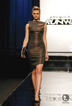 e3679d46035 Project Runway Season 10 Episode Oh My Lord and Taylor - copper dress