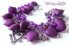 Love all the purple hearts. This was created by Elenblue from Etsy