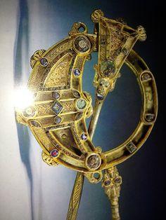 The Tara Brooch, a piece of ancient Irish jewelry made around 700AD