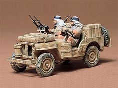 Tamiya British Special Air Service Jeep Kit   Hobbies