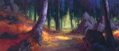 Woodsong Forest by Wildweasel339.deviantart.com on @deviantART