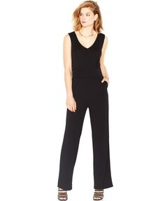 Bar III Crisscross Jumpsuit - Jumpsuits & Rompers - Women - Macy's