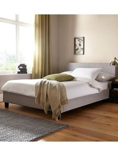 Morgan Fabric Bed With Optional Mattress Http Www Very Co Uk 1399833960 Prd Covered Frame