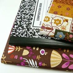 DIY composition book cover