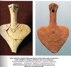 Терракотовые фигурки Маргуш, 2 тысячелетие до н.э.