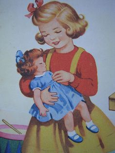 D is for Doll by Heart felt, via Flickr