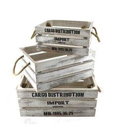Crates - Sold Seperately Home Decor Accessories, Decorative Accessories, Decoration, Montreal, Crates, Magazine Rack, Storage, Farmhouse, White Hall Tree