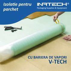 Izolatie parchet cu bariera de vapori V-TECH https://www.inatech-shop.ro/ambalaje-materiale-izolatii/izolatie-pentru-parchet/folie-izolatie-parchet-cu-bariera-de-vapori-vtech/