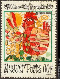 Hungary postage stamp (1979) by János Kass