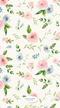Flowery Wallpaper, New Wallpaper, Pattern Wallpaper, Iphone Wallpaper, Modern Wallpaper, Flower Backgrounds, Wallpaper Backgrounds, Wallpapers Wallpapers, Pretty Patterns