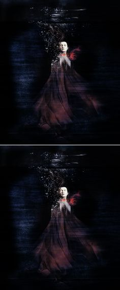"""Lady Stoneheart: I saw her die. She was dead for a day and night before they stripped her naked and threw her body in the river. Raymund opened her throat from ear to ear. She was dead. """"She don't speak, you bloody bastards cut her throat too deep for that. But she remembers."""" #asoiaf"""