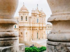 The baroque cathedral of Noto Pisa, Baroque, Cathedral, Tower, Maltese, Building, Places, Travel, Bonito