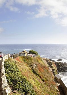 The Most Southerly Cafe, Lizard Point... highly recommended for both the food and the view!